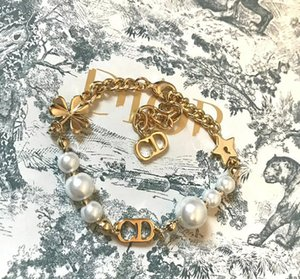 D family Di family Clover Pearl female bracelet high quality CD accessories high quality