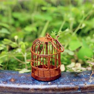 Decorative Bird Cage grandi Golden Retro Ferro Battuto Bird Cage decorazione di cerimonia giardinaggio Decor Uccello YQ01010