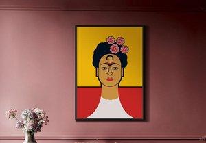 Charakter Öl bunte moderne Kunst für Hauptwanddekoration Pate handgemachte Segeltuch Malerei