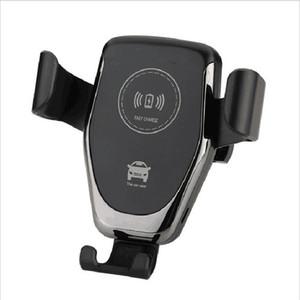 Qi Fast Car Charger del caricatore senza fili per iPhone 10W Bluetooth per auto per Samsung Galaxy S8 S9 S10 Nota 9 Caricabatterie