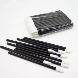 New Lipbrush Makeup Brushes Disposable Cosmetic Lip Brush Lipstick Gloss Wands Applicator Make Up Tool Brush Black&Clear