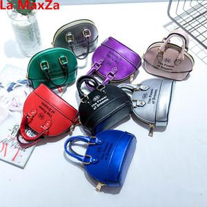 La MaxZa coreano Moda Mini Bag Shell per bambini falsi Disigner borse belle per bambini a tracolla Little Girls Messenger Bags