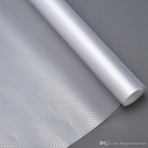 Feuchtigkeitsfest Startseite Kleiderschrank Mat 45 * 120cm verdicken Transparent Schublade Pad Papier Küchen Isolierung Wasserdicht Oilproofed Tischmatte BH0555 TQQ