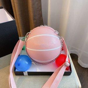 Tasarımcı Lüks Çantalar Cüzdanlar Kadın Lychee Deri Yuvarlak Top Çanta Omuz Çantaları Basketbol Çanta messegner Çanta ile Kutu Şeklinde