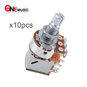 10pcs Wholesale Gitarren-Steuertopf B500K Push-Pull-Potentiometer Gitarren-Teil-Chrom