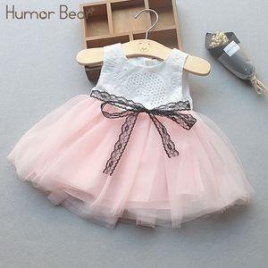 Humor Bear Infant Party Dress 2018 New Summer Neonate Vestiti Lovely Fashion Baby Birthday Dress Y19050801
