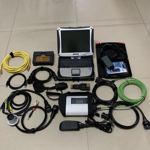 star c4 diagnosis mb sd connect = icom for bmw + 5054a 3in1 hdd 06 2020V soft-ware with laptop cf19 touch 4g pc full scanner ready to use