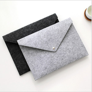 File Folder Felt Holder Documents Envelope Luxury Office Durable Briefcase Document Bag Paper Portfolio Case Letter Envelope A4 Folders