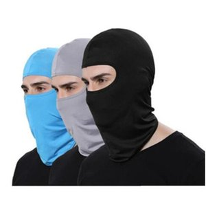 Windproof Cycling Face Masks Pure Color Bike Sport Scarf Mask Winter Warm Masks Kidnappers Acting props Mask WY482Q-1