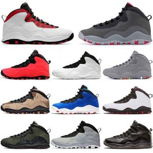 Fashion 10s Westbrook Class of 2006 JUMPMAN Smoke Grey أحذية كرة السلة للرجال Tinker 10 Cement Woodland Camo Im Back OVO Black US 7-13