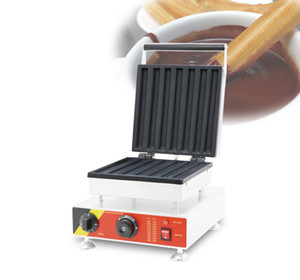 Sıcak satış masaüstü tipi elektrikli ispanyolca Mini churros makinesi, Churros pişirme makinesi Churros waffle makinesi