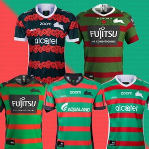 2019 Australia SOUTH SYDNEY RABBITOHS Rugby Jersey SOUTH SYDNEY RABBITOHS 2019 мужская памятная футболка Джерси Австралия NRL премьер-министр