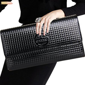 New Fashion Women Clutch Bag Small Shoulder Bag Plaid Pattern Designer Woman Messenger Bags Ladies Handbag Day Clutches
