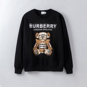 Herren-Sweatshirts Klassische Bären-Druck-Frauen Luxus Hoodies beiläufige Pullover Frauen Pullover Hiphop Bluse Mode Shirts Kostenloser Versand B103582L