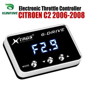 CITROEN C2 2006 2007 2008 Tuning Parça Aksesuar için Araç Elektronik kısma Kontrolörü Yarışı Hızlandırıcı Güçlü Booster