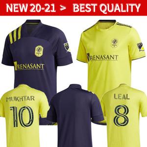 2020 내쉬빌 SC 축구 유니폼 (20) (21) 창립 MLS LEAL 다니엘 로비츠 도미니크 지목하니 무크 타 홈 멀리 camisa 드 Futebol 팀
