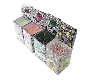 Tubo de espessura Amor Rosa Vidro Cachimbo de Vidro Grosso Com Pipes flor de plástico Loverose Vidro Oil Burner fumar mão 25pcs / caixa