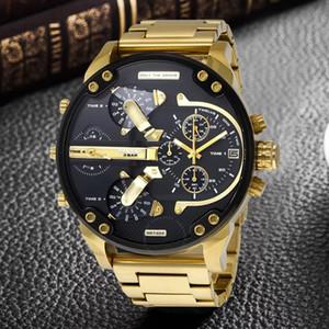 Askeri montres lüks spor yeni orijinal reloj büyük kadran gösterge dizelleri mens DZ7312 DZ7315 DZ7333 DZ7311 dz7331 dz izlemek saatler