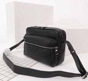 YENI Erkek Omuz Çantaları tuval deri Tasarımcılar Messenger Çanta Ünlü Seyahat Çantaları Postacı Kare Çanta Evrak Çantası Crossbody kaliteli 5 renkler