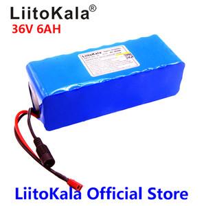 LiitoKala 36V de 500W batterie lithium 36V 18650 8AH batterie de vélo électrique avec étui PVC pour vélo électrique