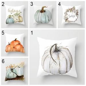 11 colori halloween zucca federa corta peluche federa federa decorazione della casa divano ufficio federa 45 * 45 cm BH2048 CY