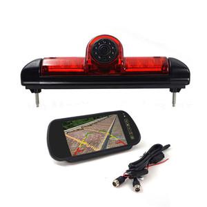 """cámara de visión trasera del coche luz de freno para uso Fiat Ducato para finales de 2006-2015 3 gen, Citroen / Peugeot Boxer con monitor de 7"""""""