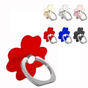 finger ring Holder 360 Degree Rotation Flower Mobile Phone Mount Holder Stents For Samsung htc android phone pc