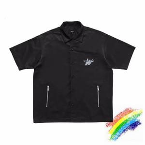 2020ss WE11DONE camisa de los hombres de las mujeres de alta calidad WE11 HECHO Top Tees WELLDONE camisas