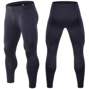 Mens compressione collant basket pantaloni da ginnastica bodybuilding corridori ghette scarne dei pantaloni Figura intera Free shipping ll