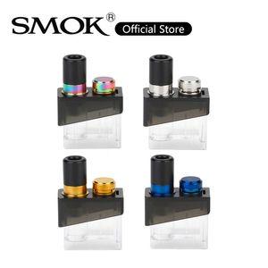 SMOK Trinity Alpha Vazio Pod 2.8 ml Cartucho de Capacidade Com Push-up-tipo Enchimento Cap Para Trindade Alpha Kit 100% Original