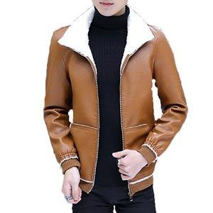 Hakiki Ceket Erkekler Uzun Kış Deri WINDBREAKER Veste En Jean Homme Bombacı ceketler Erkek Taktik Casaco Corta Vento 70B0998