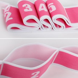 Yoga Pull Strap Belt Elastic Band Latin Dance Stretching Band Lengthened Multi Functional Sports Workout Fitness Gym Equipment