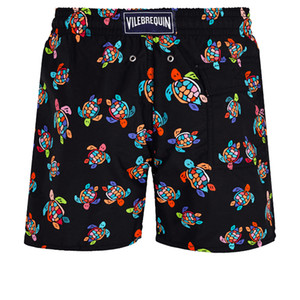 Vilebrequin MEN SWIMWEAR HERRINGBONES TURTLES Neueste Sommer Casual Shorts Herren Fashion Style Herren Shorts Bermuda Beach Shorts 028