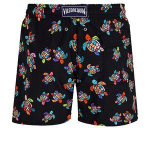 Vilebrequin MEN PLAJ herringbones KAPLUMBAĞALAR Yeni Yaz Casual Şort Erkekler Moda Stil Erkek Şort bermuda plaj Şort 028