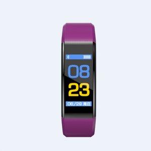 115plus Smart Watch Waterproof Anti-fall Bracelet Color Screen Heart Rate Test Sports Stepping Blood Pressure Bracelet