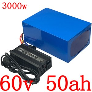 60V battery 50AH electric bicycle 40AH lithium pack 1500W 2000W 3000W scooter