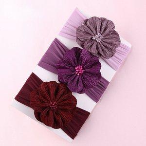3pcs Newborn neonate la fascia del fiore infantili fascia dei capelli Imposta Headwear Accessori svegli belli regali di nuovo commercio all'ingrosso