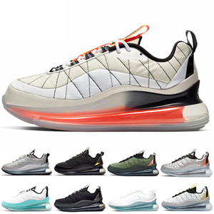 Men Women Running Shoes Mens Trainers Stock x Clean White Metallic Silver Cool Grey Sail Orange White Aqua Sports Sneakers Size 5.5-11