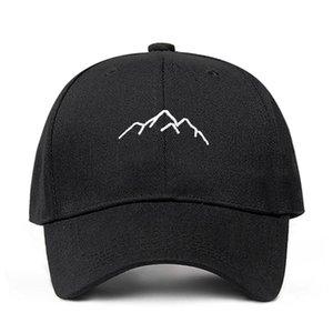 2018 yeni Dağ silsilesi nakış Womens Beyzbol Caps Ayarlanabilir Snapback Moda baba Şapkalar Kemik Garros dağcıları Caps