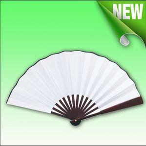 Сублимация Пустой шелковый Складная вентилятор для передачи тепловой / тепловой печати из бамбука Вентиляторы