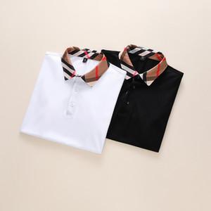 Lujo Italia primavera tee camiseta diseñadores Polos de la calle principal del bordado serpientes de liga Poco Ropa para Hombres abeja Impresión Marca polo Shir
