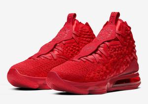 Enfants LeBrons 17 chaussures tapis rouge ventes avec la boîte catégorie hommes école femmes magasin de chaussures de basket-ball size36-46