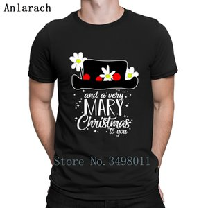 And A Very Mary Christmas To You T Shirt Custom Cotton Crew Neck Pictures Gift New Fashion Summer Letter Mary Poppins T-Shirt