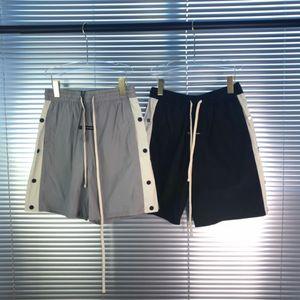 hot selling FOGshorts Classic Sport Fitness Elastic Waist Shorts Casual High Street Drawstring Pants Outdoor Short Pant Summer Breathable