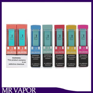 MR VAPOR одноразовое устройство Pod Starter Kit 280mAh Аккумулятор 1,3 мл Картридж Vape Пустой Pen Puff Plus Posh Стиг