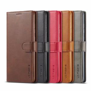 Vintage Leather Wallet casse del telefono di vibrazione per Samsung Galaxy A51 A71 S20 plus A10 A20 A40 A50 A60 M30 S10 Inoltre S10e S9 Nota 8 9 Back Cover