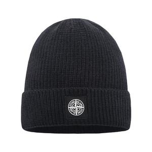 Moda unisex Spring Sombreros de invierno para las mujeres de los hombres de lana de punto Beanie sombrero superior de la calidad del capo Hombre de punto Gorros hip-hop Gorro Espesar caliente del casquillo