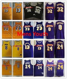 VintageLosAngelesLakersnba LeBron 23 James Kareem Abdul-Jabbar248 BryantEarvin Johnson Chamberlain Jersey