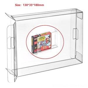H 10Pcs Effacer cartouche Box Case Sleeve CIB protecteur pour SNES US VersionSFC Games cartouche Box manches Japon, Coques Sacs Jeu Acce