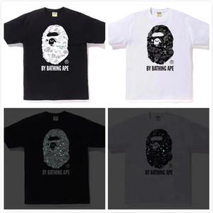 Marque Nouveau Hommes De luxe Chemises Designer T-shirt De Mode top T-shirts Hip Hop Streetwear Hommes Chemise À Manches courtes Ape - homme Motif 2020770 K